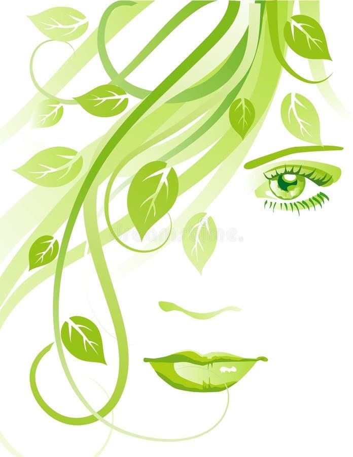 Download Summer girl stock vector. Image of looking, fresh, illustration - 14415044