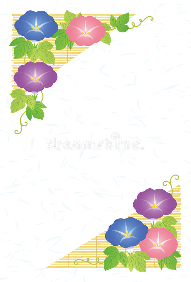 Download Summer greeting card stock vector. Image of vine, card - 31158816