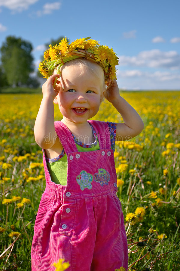 Summer happiness royalty free stock image