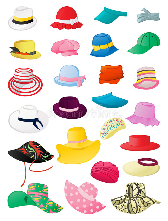 Free Summer Hats Stock Photos - 31182333