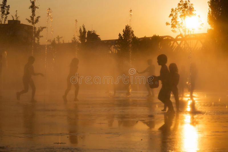 Summer Heat stock images