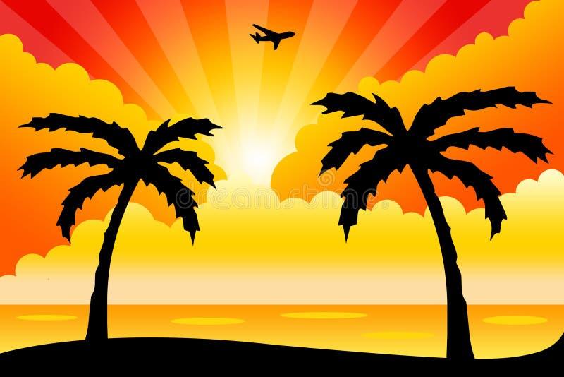 Download Summer holiday stock illustration. Illustration of flight - 22502035