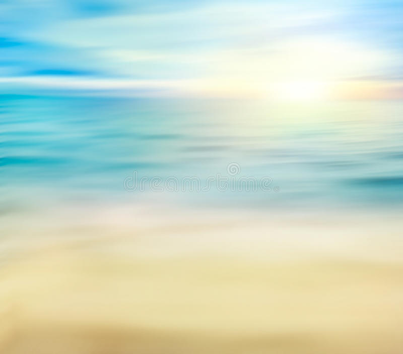 Summer holiday background. Summer ocean with sand. Beach with sea waves