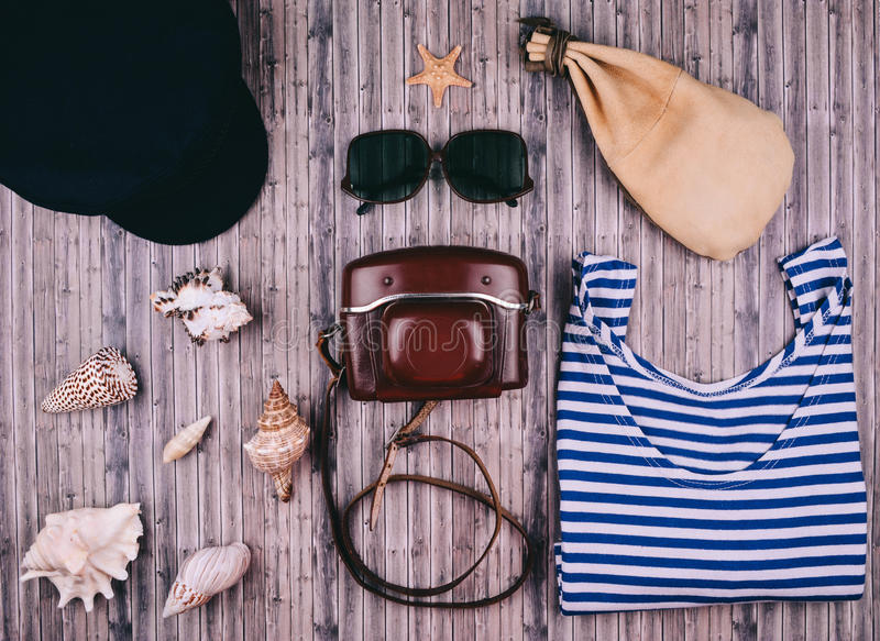 Summer holiday background, travel concept. royalty free stock photo