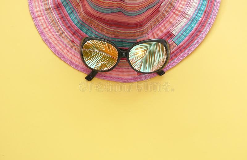 Summer holiday background royalty free stock photography
