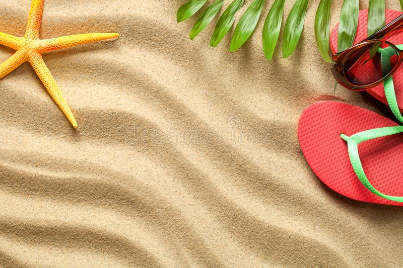 Summer, Holiday, Beach Background stock photography