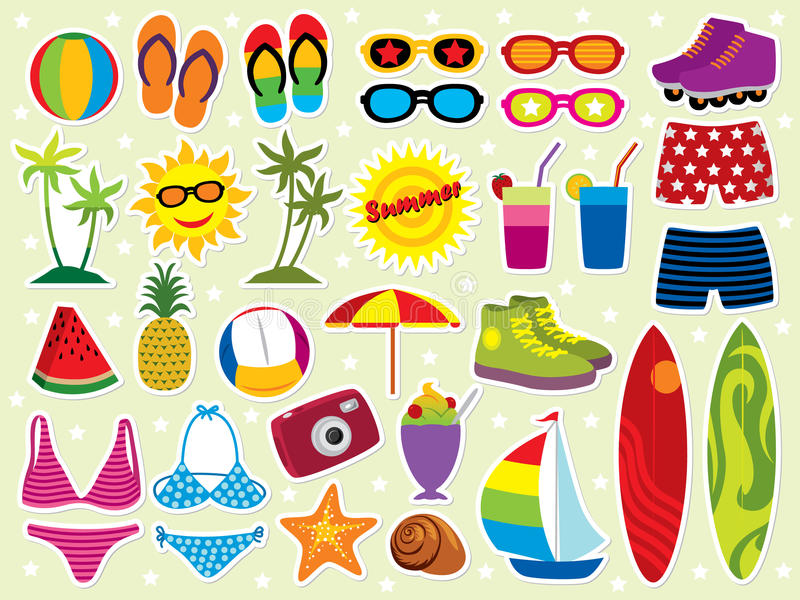 Download Summer Holidays stock vector. Image of clip, flip, leisure - 9483905