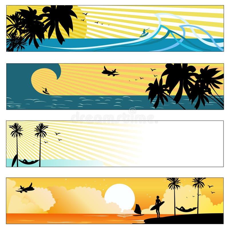 Summer holidays vector illustration
