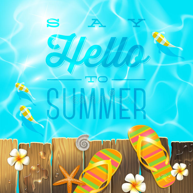 Free Summer Holidays Design Royalty Free Stock Images - 40289029