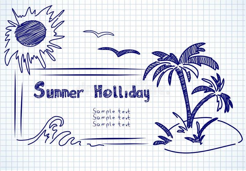 Download Summer holliday doodles stock vector. Illustration of travel - 24140483