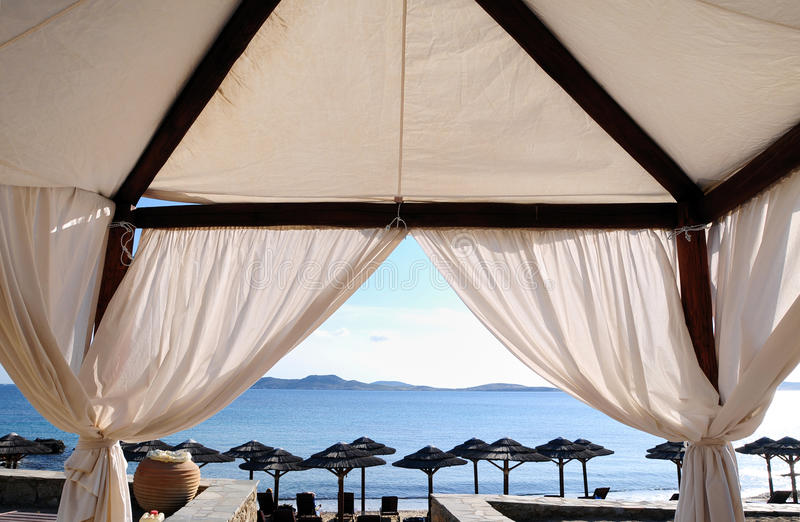 Download Summer House stock photo. Image of aegean, enjoy, pavilion - 10243370