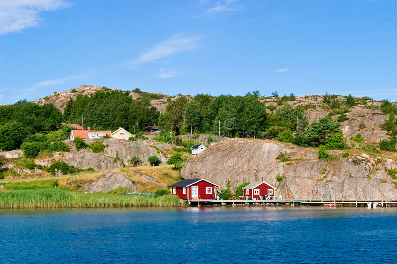 Download Summer house stock image. Image of cottage, archipelago - 8548237
