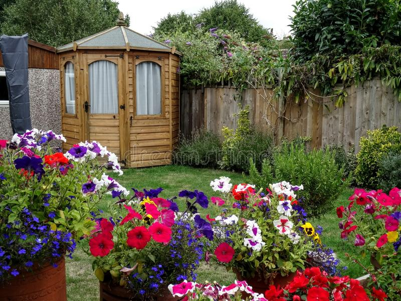 Summer House stock image