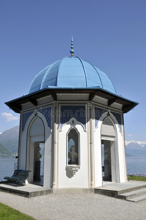 Summer-house, Villa Melzi, Lake Como royalty free stock photos