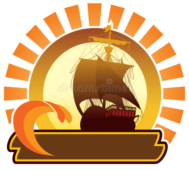 Download Summer Icon - Ship Royalty Free Stock Photography - Image: 5284377