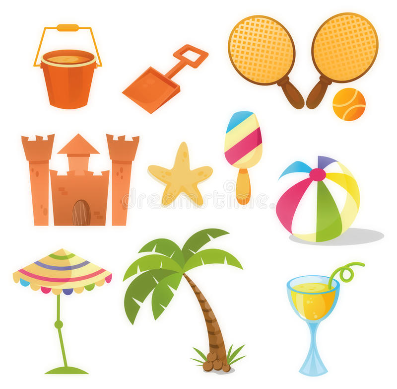 Download Summer Icons Stock Photos - Image: 14869583