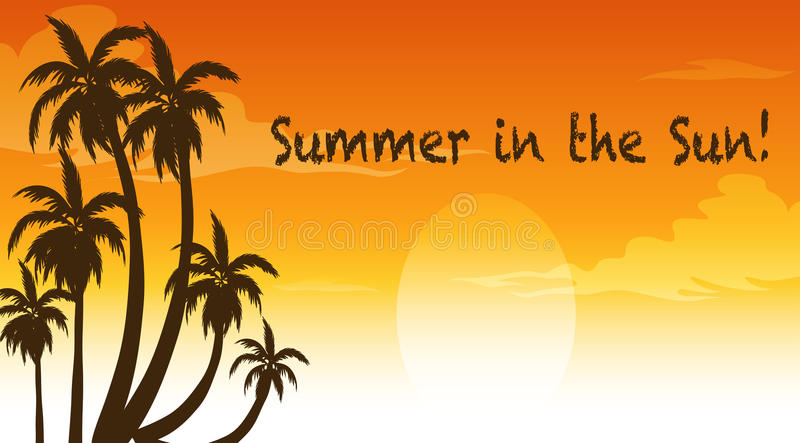 Summer stock illustration