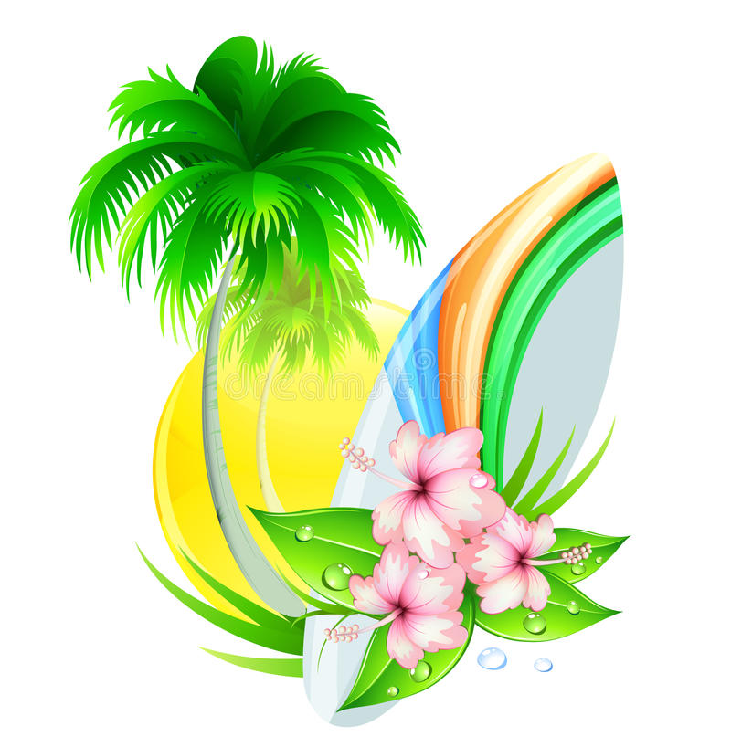 Download Summer insignia stock vector. Image of nature, idyllic - 20215306