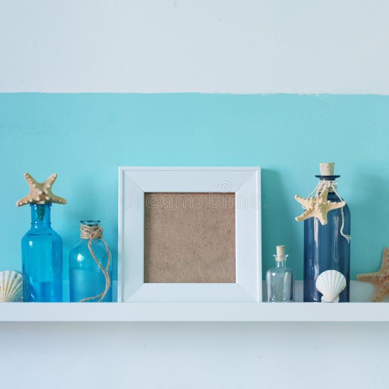 Summer interior decor stock photo