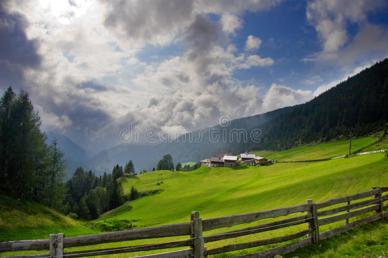 Summer landscape royalty free stock photography