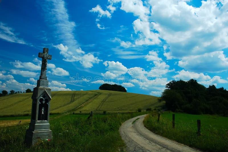 Download Summer landscape stock image. Image of harvest, sculpture - 168371