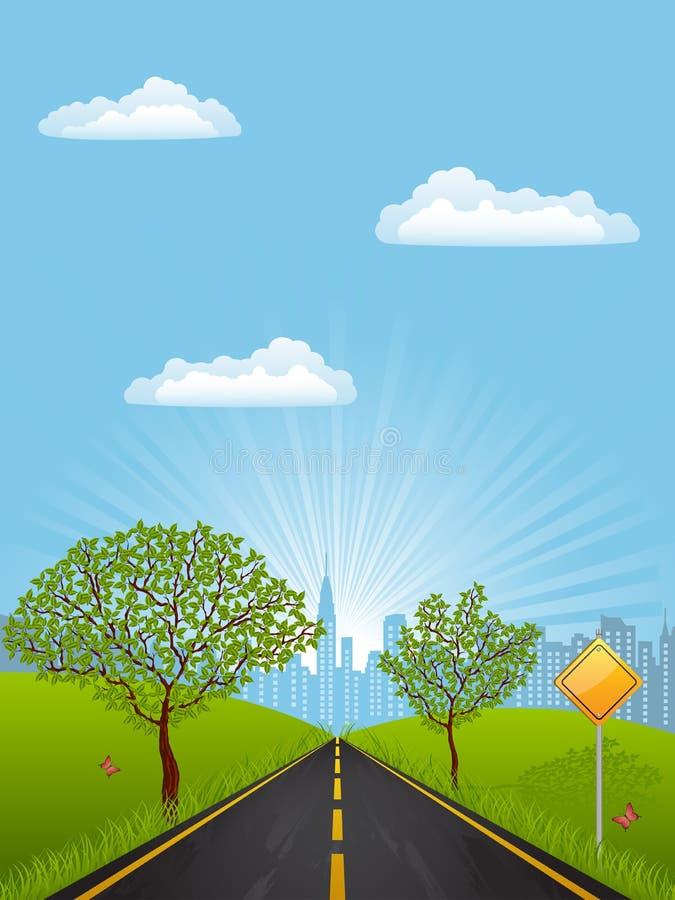 Download Summer landscape stock vector. Illustration of illustration - 17426553