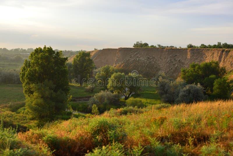 Summer Landscape, Burunday, Almaty, Kazakhstan Stock Photo ...