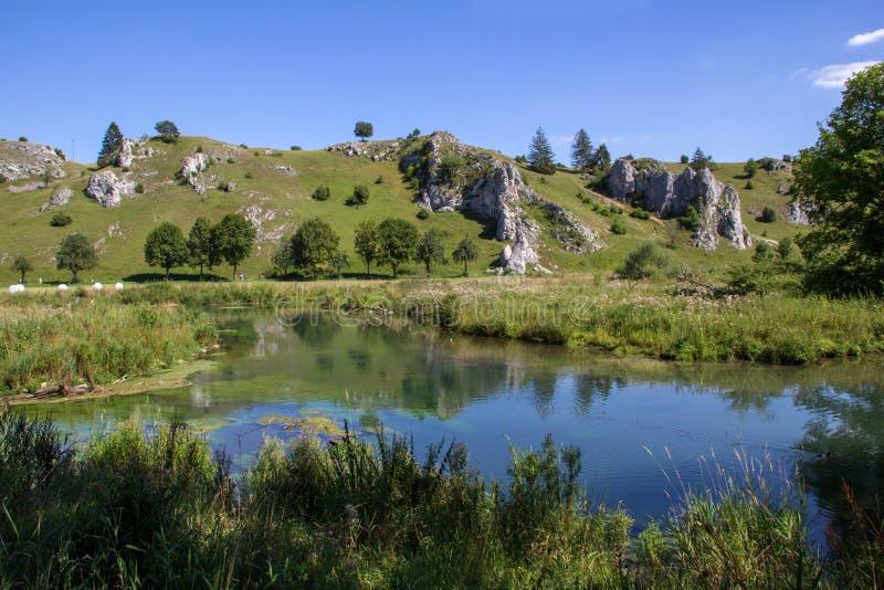 Download Summer Landscape stock image. Image of germany, summer - 75959407