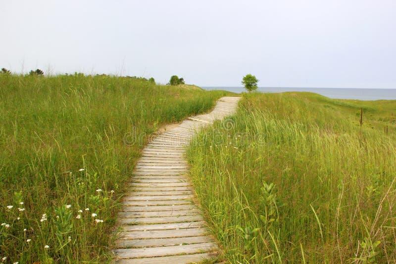 Kohler-Andrae State Park. stock image. Image of lakes - 102015287
