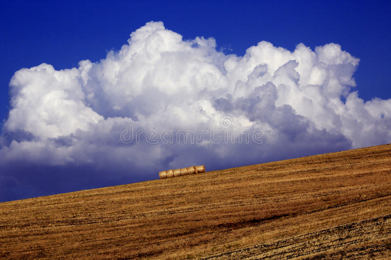 Summer landscapes in Southern Italy royalty free stock photography