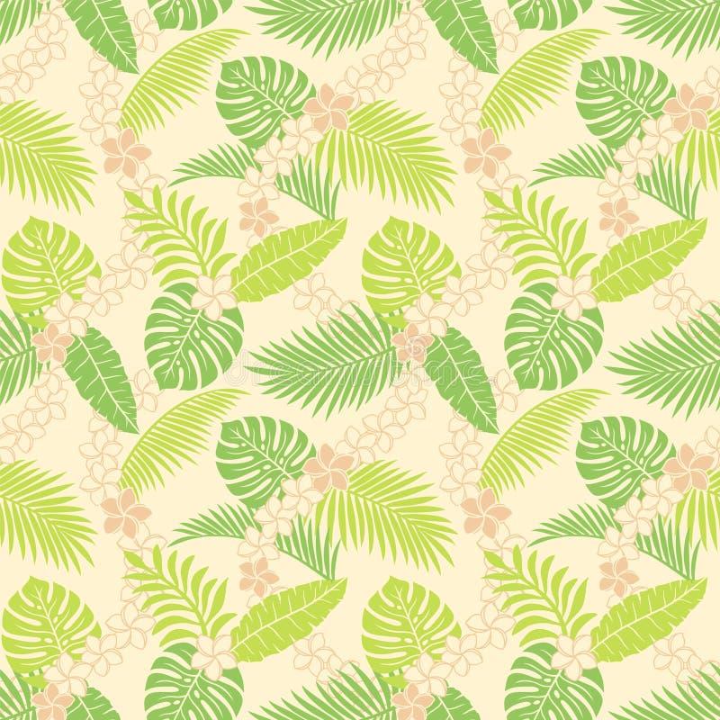 Summer Leaf Pattern Stock Photo