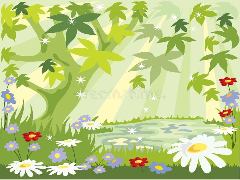 Summer Leaves Stock Image