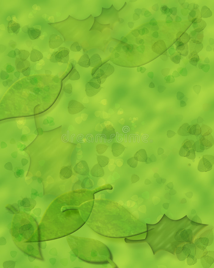 Download Summer leaves stock illustration. Image of grow, outside - 516170
