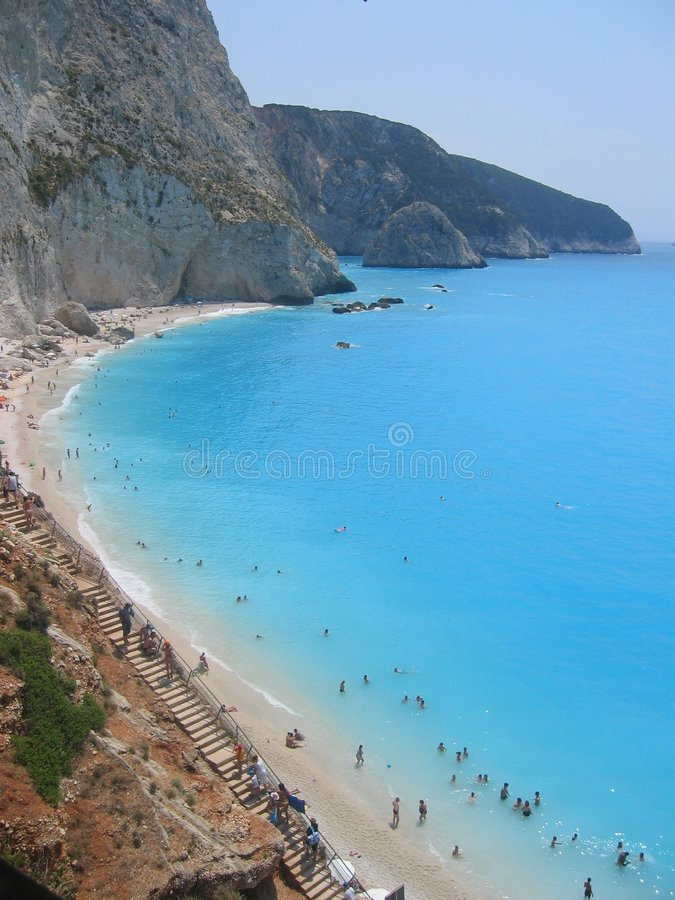 Summer in Lefkada royalty free stock images