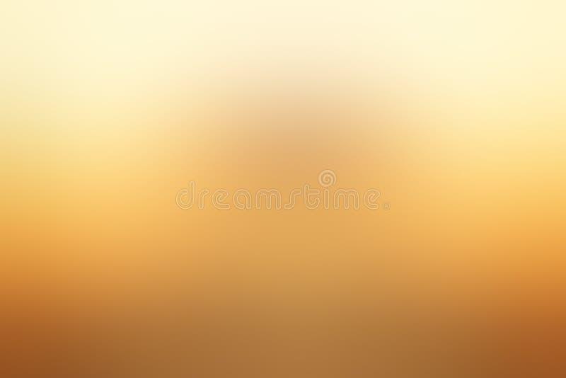 Summer Light Brown Gentle Blur Background vector illustratie