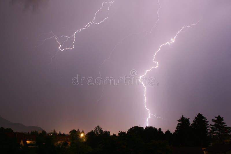 Summer Lightning 02 royalty free stock photo