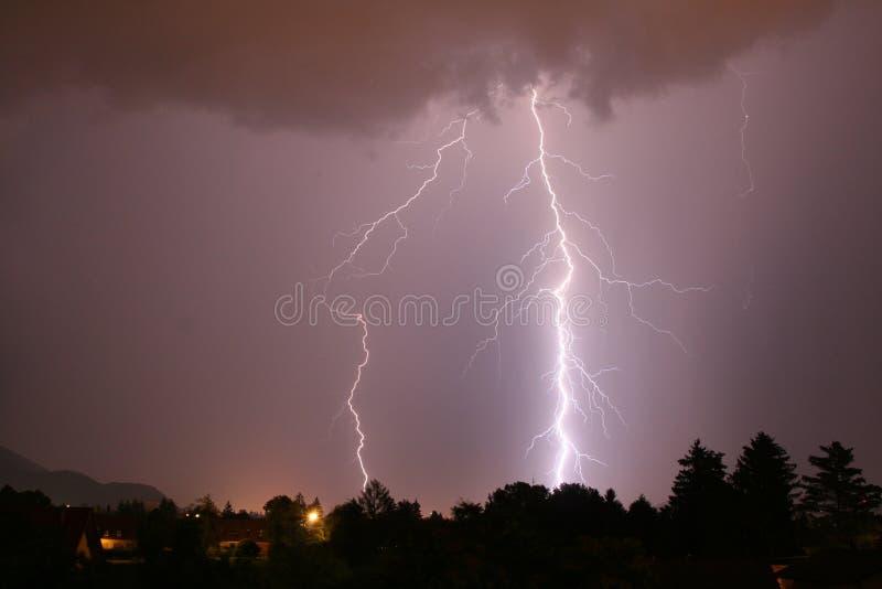 Summer Lightning stock photos