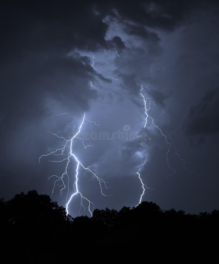 Summer lightning bolt royalty free stock photography