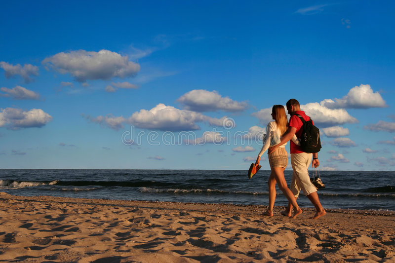 Summer love stock image