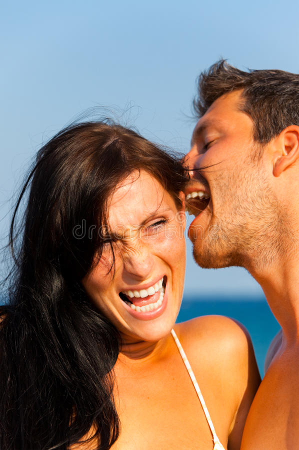 Download Summer lovers stock photo. Image of lifestyle, laughing - 13026764