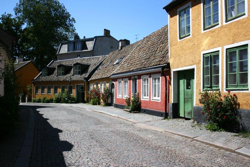 Summer in Lund stock photos