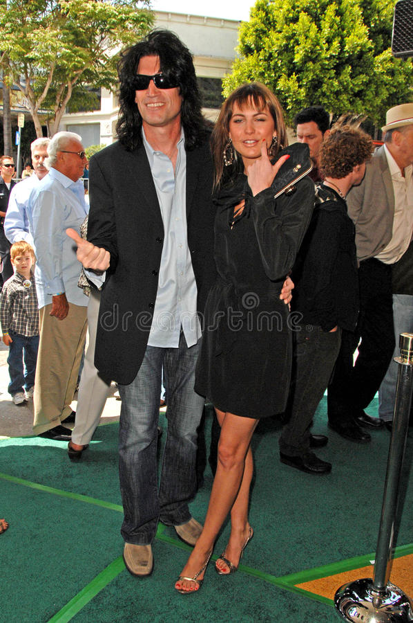 Tommy Thayer. At the Los Angeles Premiere of 'A Plumm Summer'. Mann Bruin, Westwood, CA. 04-20-08 stock photo