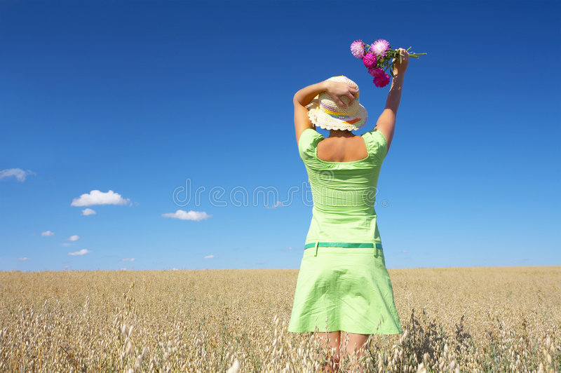 Summer mood royalty free stock image