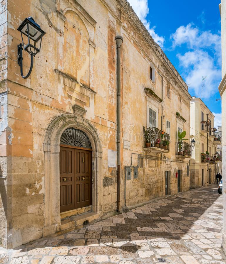 Summer morning Altamura, province of Bari, Puglia, southern Italy. Altamura is a city and comune of Apulia, in southern Italy. It is located on one of a hill of royalty free stock photo