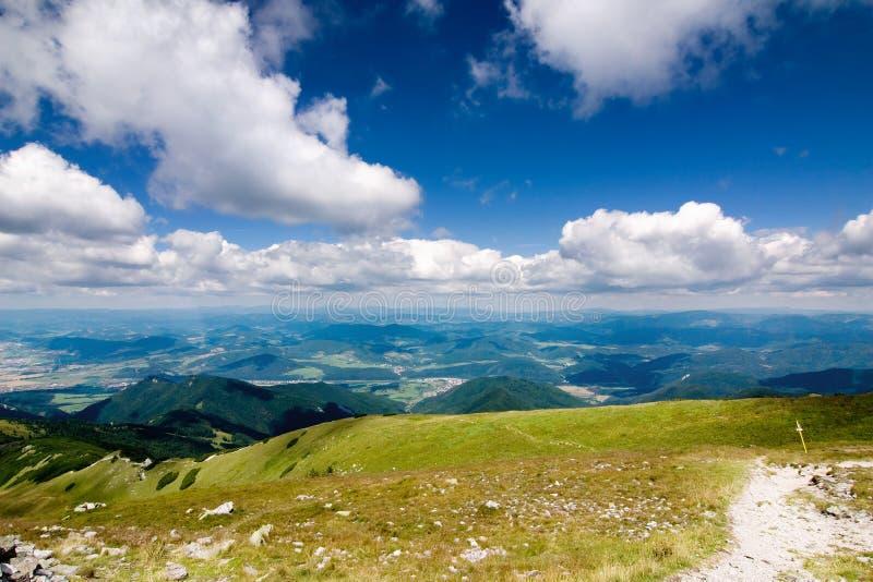 Summer Mountain Ridge Royalty Free Stock Photos