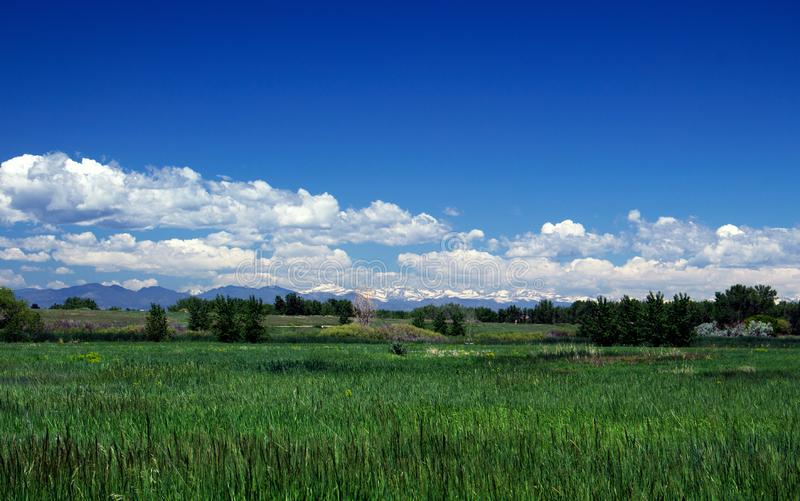 Summer Mountains at Cherry Creek State Park royalty free stock photos