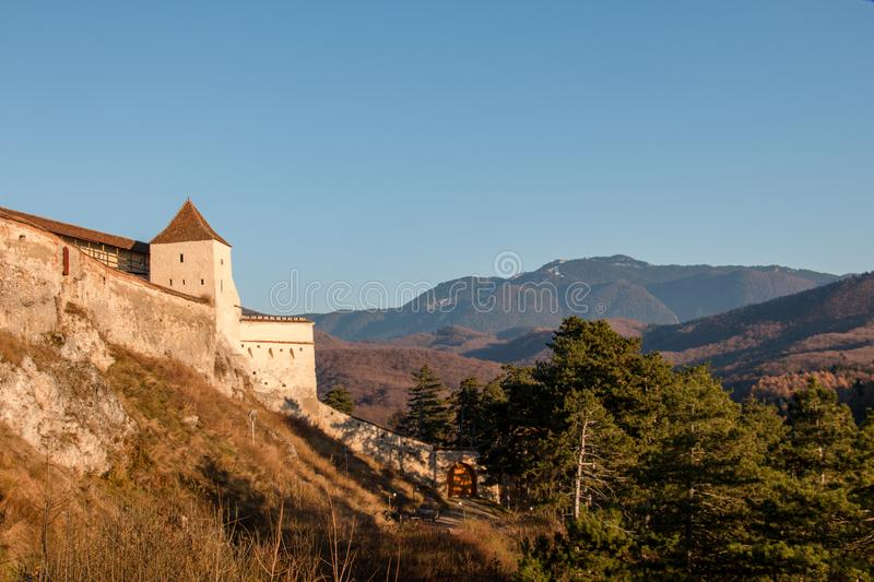 Summer mountains landscape in Transylvania, Romania royalty free stock photography