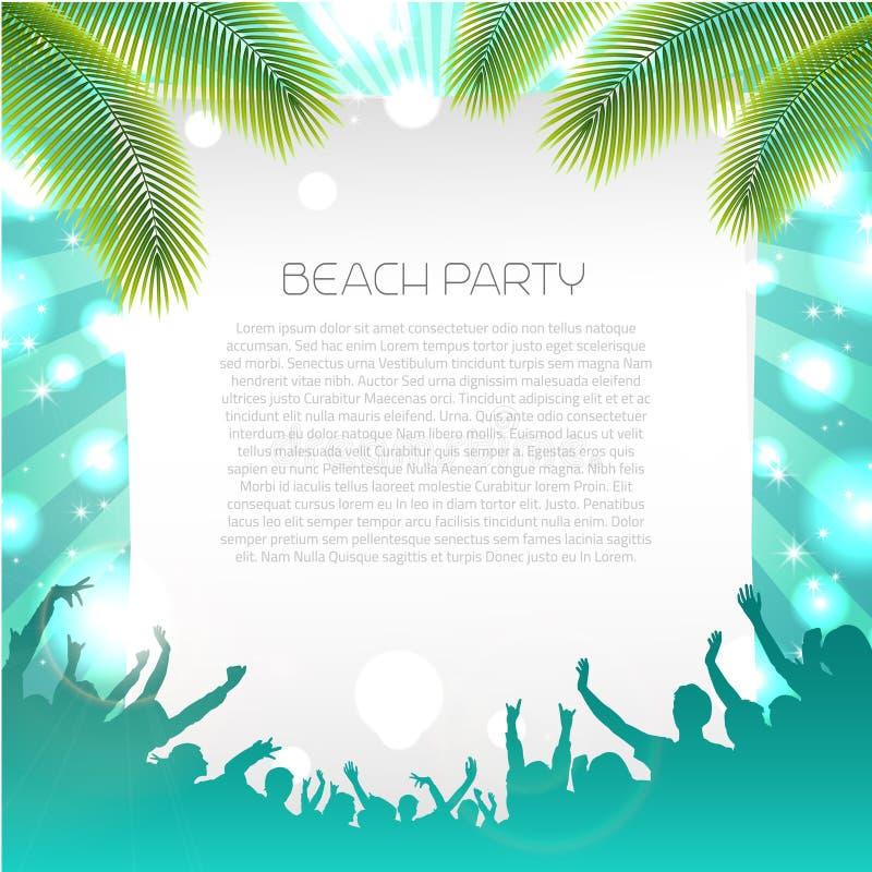 Summer Music Background - Vector stock illustration