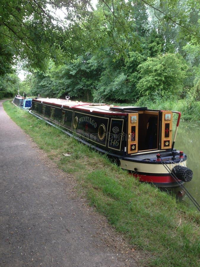 Summer Narrow Boat royalty free stock photo