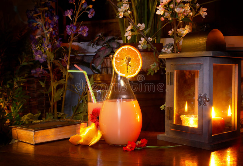 Download Summer night drink stock photo. Image of pitcher, outdoors - 2542898